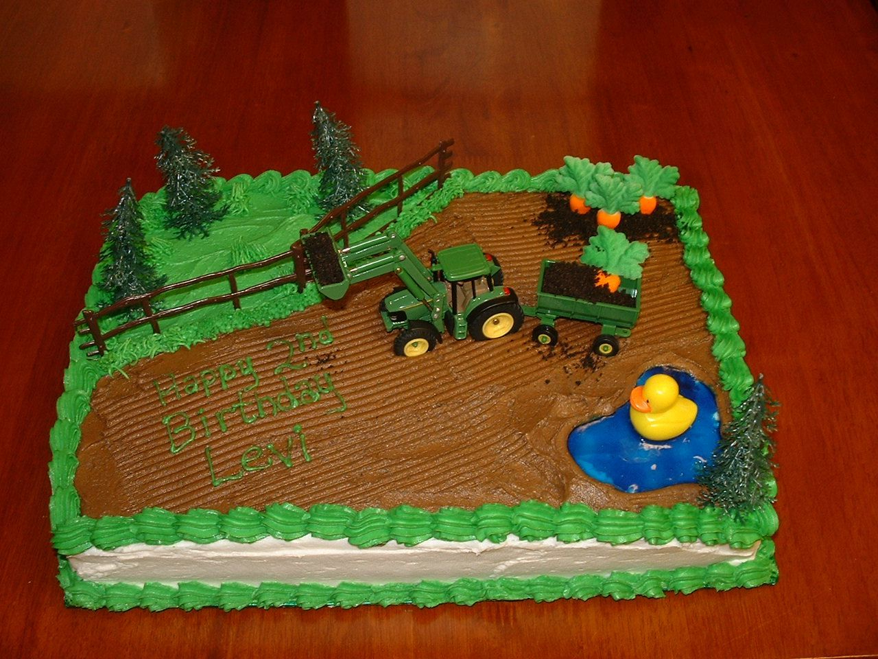 960 In 30 Awesome Photo Of Tractor Birthday Cakes