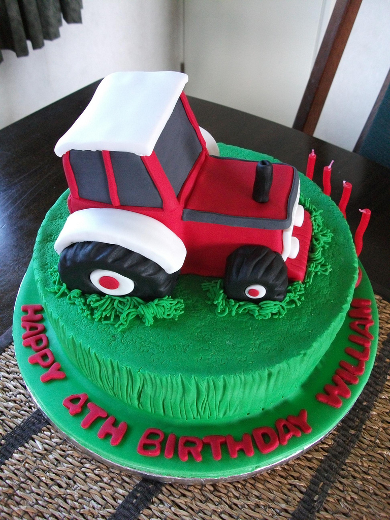 1024 In 30 Awesome Photo Of Tractor Birthday Cakes
