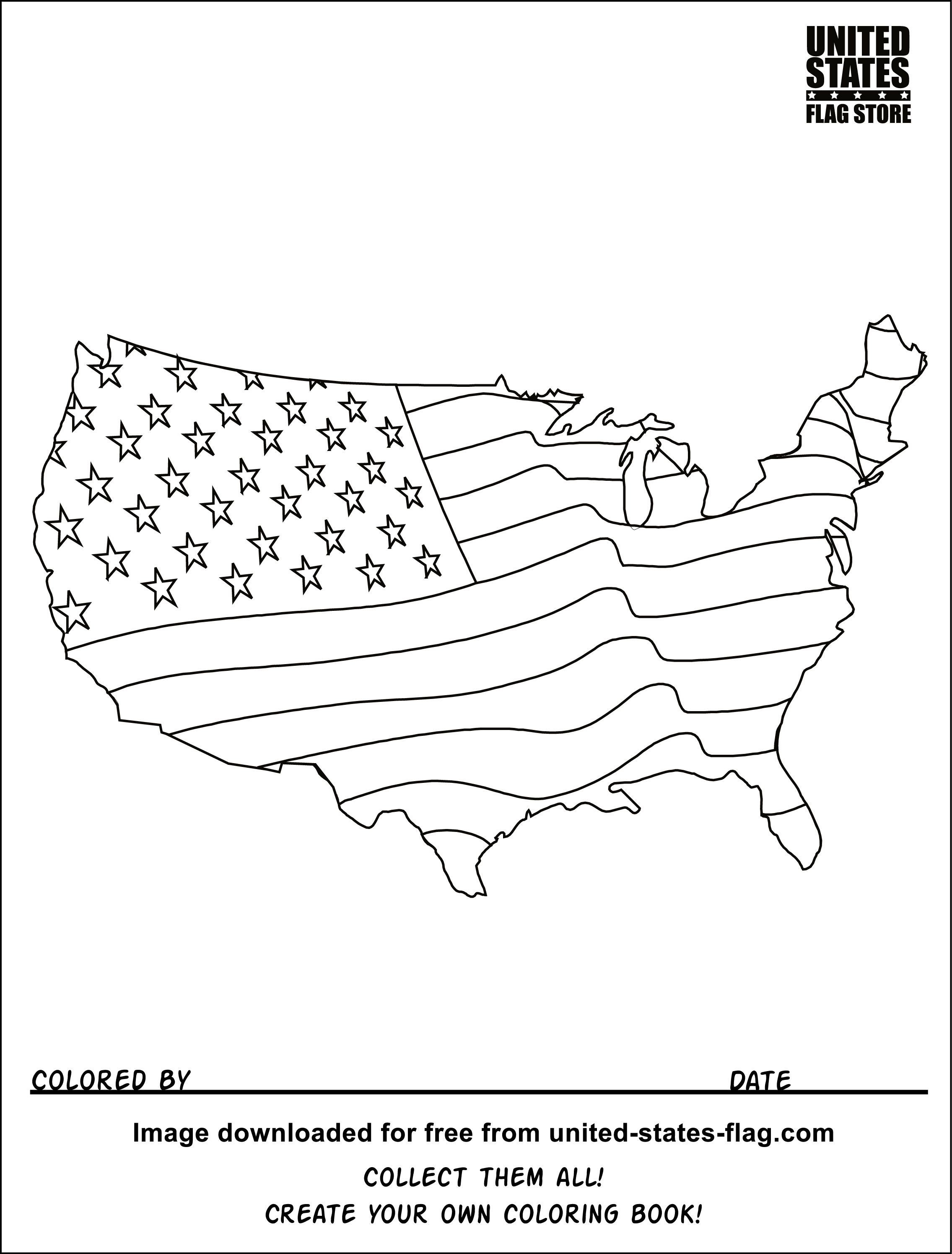 Us Map Coloring Page Printable Color Map Of The Us Coloring ...
