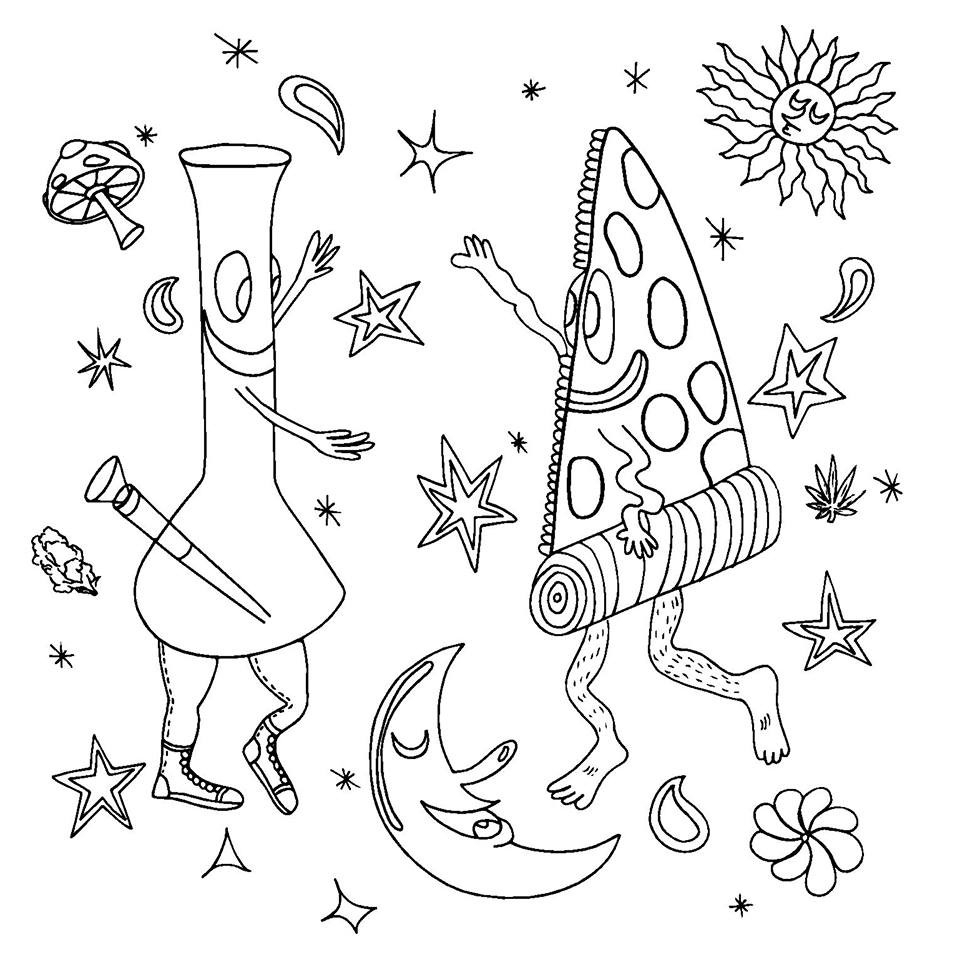 454 Best Vulgar Coloring Pages images | Coloring pages, Swear word ... | 960x960