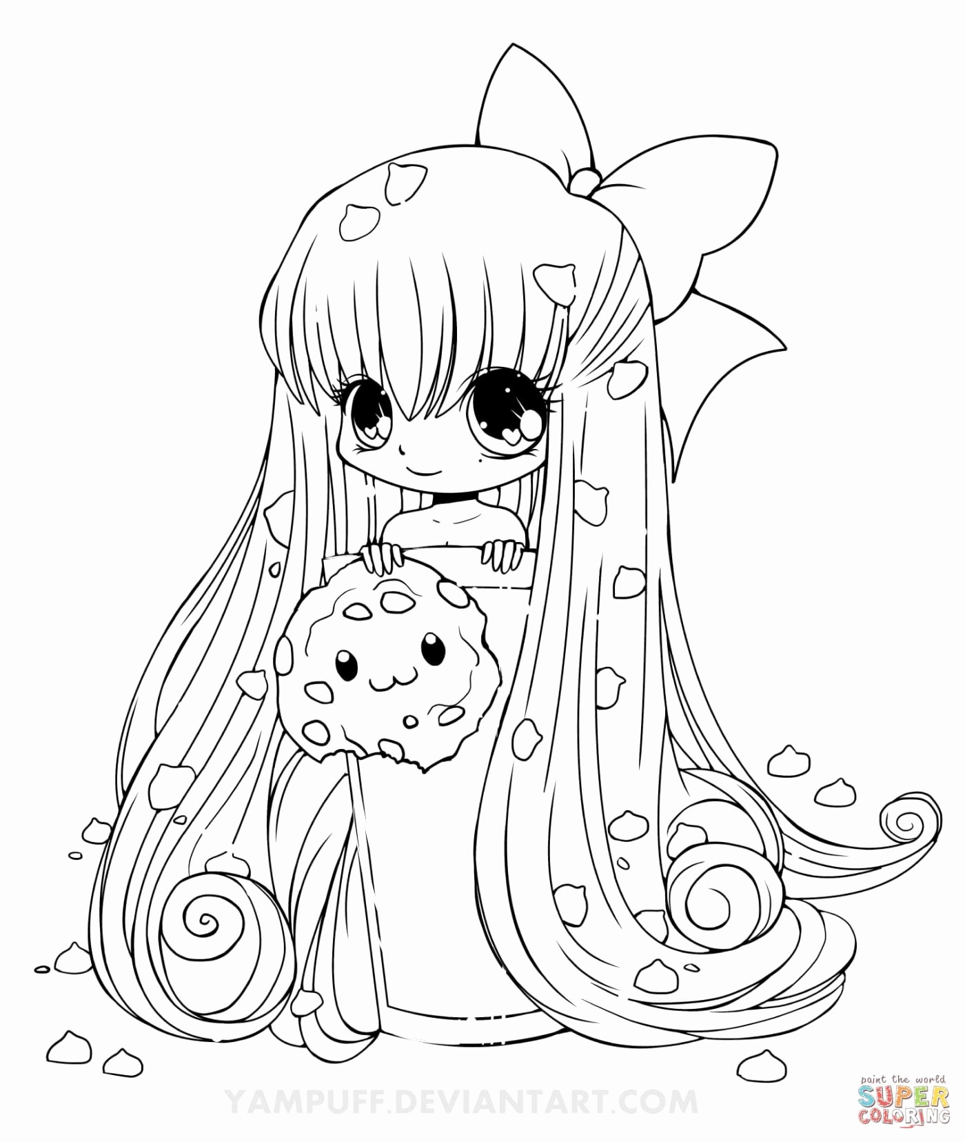 Trends For Kawaii Cute Chibi Coloring Pages | Sugar And Spice
