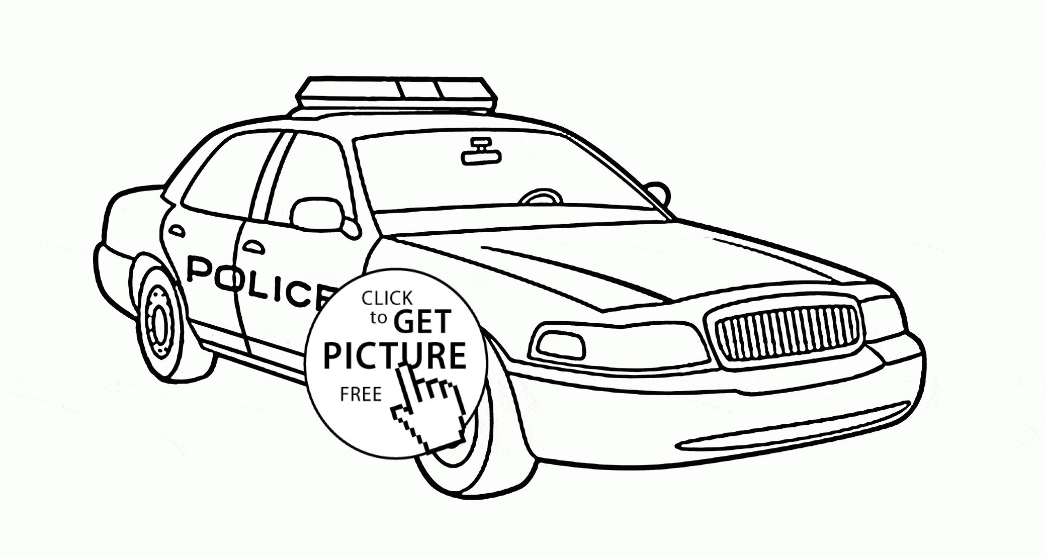 Free Car Coloring Pages Coloring Pages Free Printable Police Car Coloring Pages Birijus Com