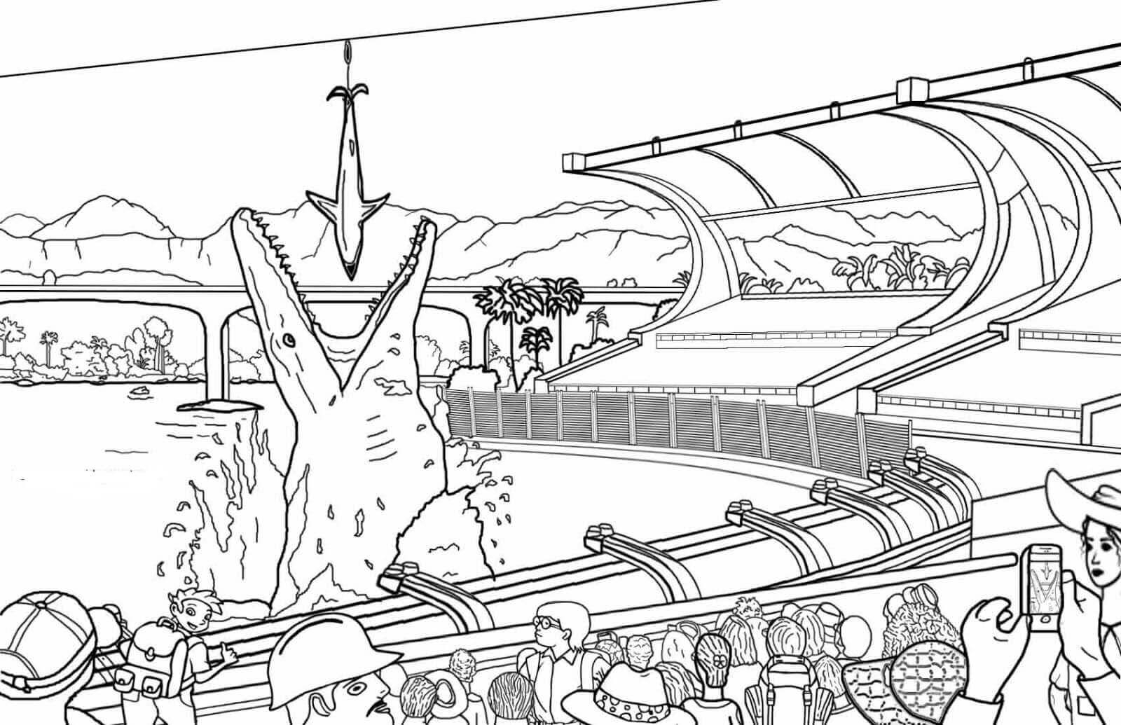 Jurassic Park Coloring Pages Printable Jurassic World Coloring Pages For Kids Birijus Com