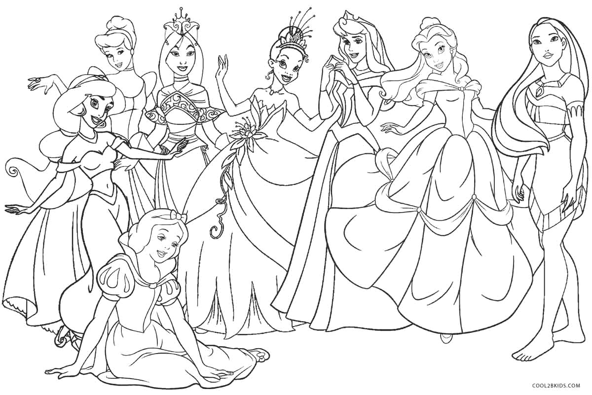 It is a graphic of Princess Printable Coloring Pages regarding baby