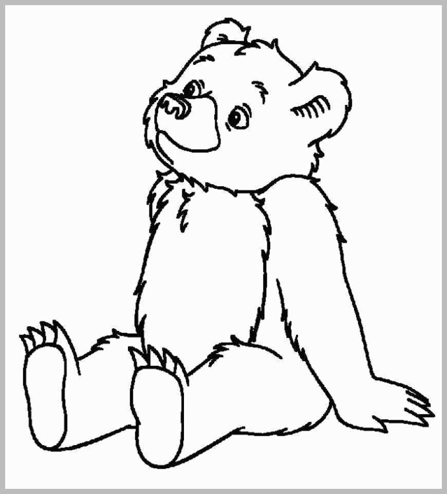 Teddy Bear Coloring Pages Coloring Pages Bear Coloring Pages Online Wonderfully Free Birijus Com